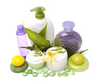 Bodycare products Stock Images