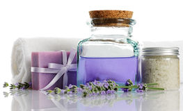 Bodycare products stock photography
