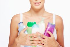 Bodycare products Royalty Free Stock Photography