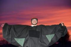 Bodyflying stock afbeeldingen