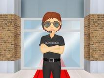 Bodyguard Royalty Free Stock Photography