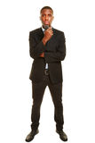 Bodyguard from personal security Royalty Free Stock Photography