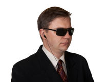 Bodyguard in sunglasses Royalty Free Stock Photography