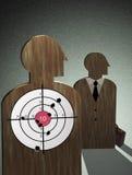 Bodyguard - target Stock Photography