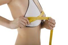 bodyindex bodyparts采取妇女年轻人 免版税库存照片