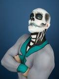 Bodypainted мужчина Стоковые Изображения
