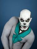 Bodypainted мужчина Стоковое Изображение RF