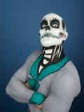 Bodypainted мужчина Стоковое фото RF