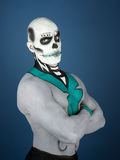 Bodypainted male Stock Photos