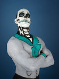 Bodypainted male Stock Image