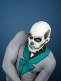 Bodypainted male Royalty Free Stock Images