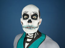Bodypainted male Stock Photography
