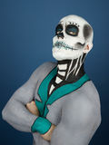 Bodypainted male Stock Images