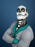 Bodypainted male Royalty Free Stock Photo