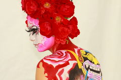 Bodypainting Royalty Free Stock Image