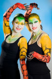 Bodypainting Royalty Free Stock Photos