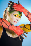 Bodypainting Stock Images