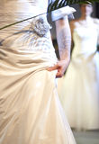Bodypart of bride Royalty Free Stock Images