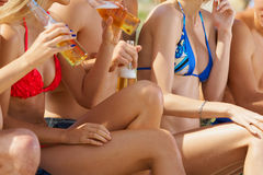 Bodys and beer Royalty Free Stock Photo