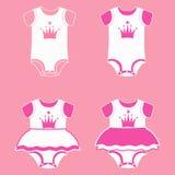 Bodysuit für Mädchen Lizenzfreies Stockfoto