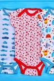 Bodysuits лета младенцев верхнего качества стоковое изображение