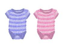 Bodysuits van de baby Royalty-vrije Stock Afbeeldingen