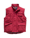Bodywarmer Red Royalty Free Stock Images