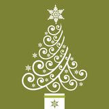 boże narodzenia coil ostrego drzewa Zdjęcie Royalty Free