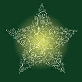 boże narodzenie gwiazda Obraz Stock