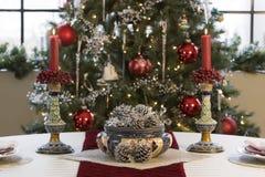 boże narodzenie stół Zdjęcie Royalty Free