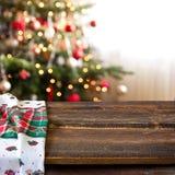 Boże Narodzenie stół Zdjęcia Royalty Free