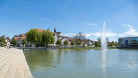 Boeblingen lake. An image of the city of Boeblingen in Germany Stock Photography