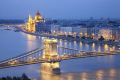Boedapest. stock afbeelding