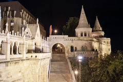 Boedapest bij nacht Royalty-vrije Stock Fotografie