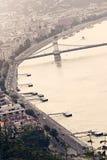 Boedapest de stad in Stock Afbeeldingen