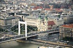 Boedapest de stad in Royalty-vrije Stock Foto's