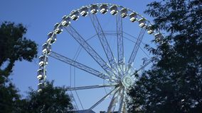 Boedapest Ferris Wheel stock videobeelden