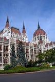 Boedapest - het Hongaarse parlement stock fotografie