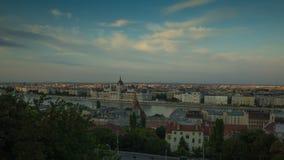 Boedapest, het Hongaarse Parlement stock video
