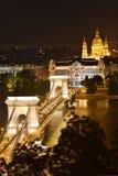 Boedapest, het parlement Stock Afbeeldingen