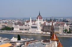 Boedapest - het parlement Stock Foto's