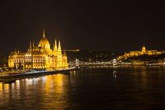 Boedapest Hongarije Stock Afbeelding