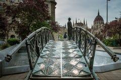 BOEDAPEST, HONGARIJE - AVRIL 15, 2016: Het monument van Eerste Minist Royalty-vrije Stock Fotografie