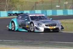 Boedapest, Hongarije, 30 - 2014 Maart DTM Mercedes stock foto's