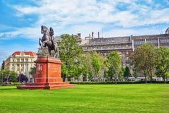 BOEDAPEST, HONGARIJE - MEI 02, 2016: Monument voor Francis II Rakocz Stock Afbeeldingen