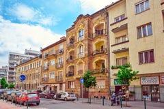 BOEDAPEST, 03 HONGARIJE-MEI, 2016: Mooie landschaps stedelijke mening Royalty-vrije Stock Foto's