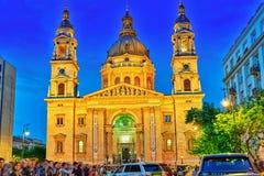 BOEDAPEST, 05,2016 HONGARIJE-MEI: St Stephen Basilica in Boedapest Royalty-vrije Stock Afbeeldingen