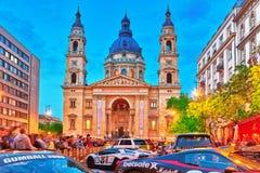 BOEDAPEST, 05,2016 HONGARIJE-MEI: St Stephen Basilica in Boedapest Royalty-vrije Stock Foto's