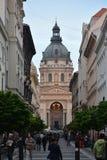 Boedapest, Hongarije (St Stephens Basilica) Stock Afbeeldingen