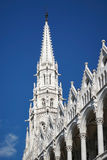 BOEDAPEST, HUNGARY/EUROPE - 21 SEPTEMBER: Het Hongaarse Parlement B royalty-vrije stock afbeeldingen
